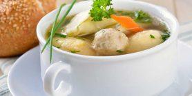 Suppe Fleisch